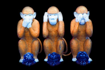Ape-ikkesnakke-ikkehøre-ikkese