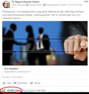Hva Skjedde LinkedIn Views